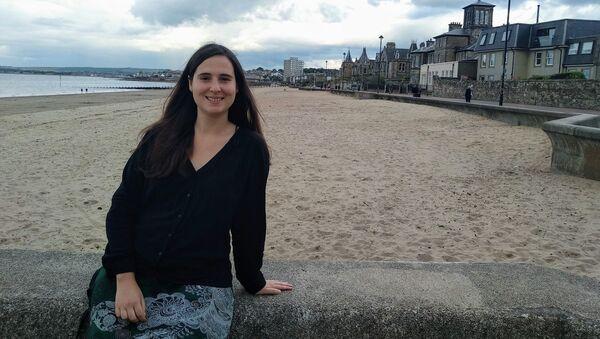 María Cumplido,  investigadora en matemáticas - Sputnik Mundo