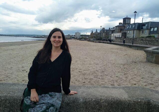 María Cumplido,  investigadora en matemáticas