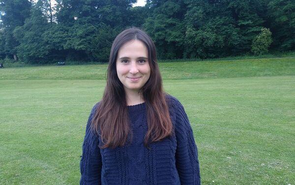 María Cumplido, matemática española que ahora trabaja en Edimburgo - Sputnik Mundo