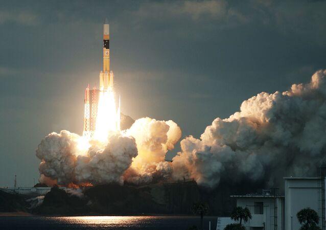 El cohete japonés H-IIA