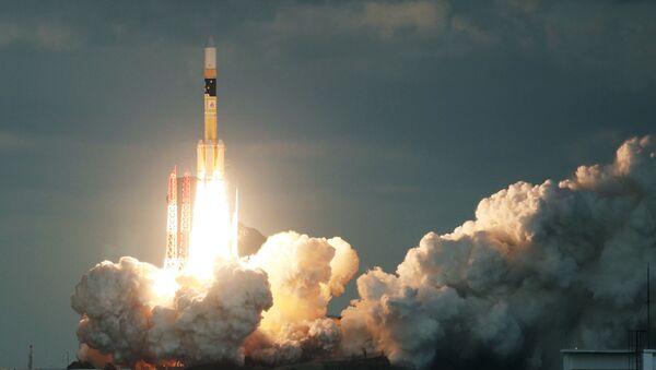 El cohete japonés H-IIA  - Sputnik Mundo