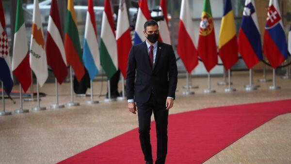 Pedro Sánchez, el presidente del Gobierno español  - Sputnik Mundo