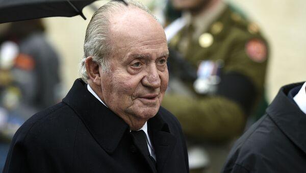 Rey emérito Juan Carlos I en un acto en Luxemburgo  - Sputnik Mundo