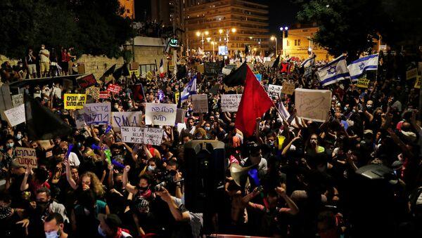 Protestas en Israel  - Sputnik Mundo