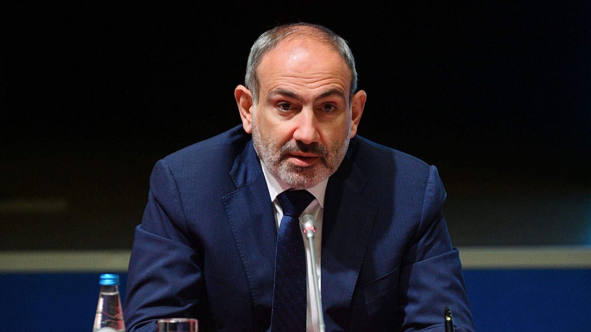 Nikol Pashinián, primer ministro de Armenia - Sputnik Mundo, 1920, 03.03.2021