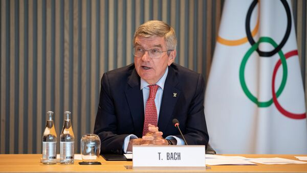 Thomas Bach, presidente del Comité Olímpico Internacional - Sputnik Mundo