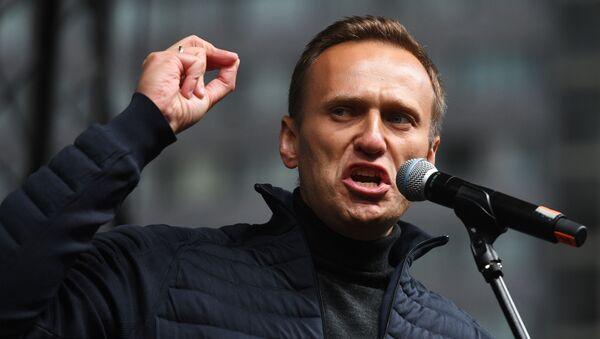 Alexéi Navalni, líder opositor ruso - Sputnik Mundo