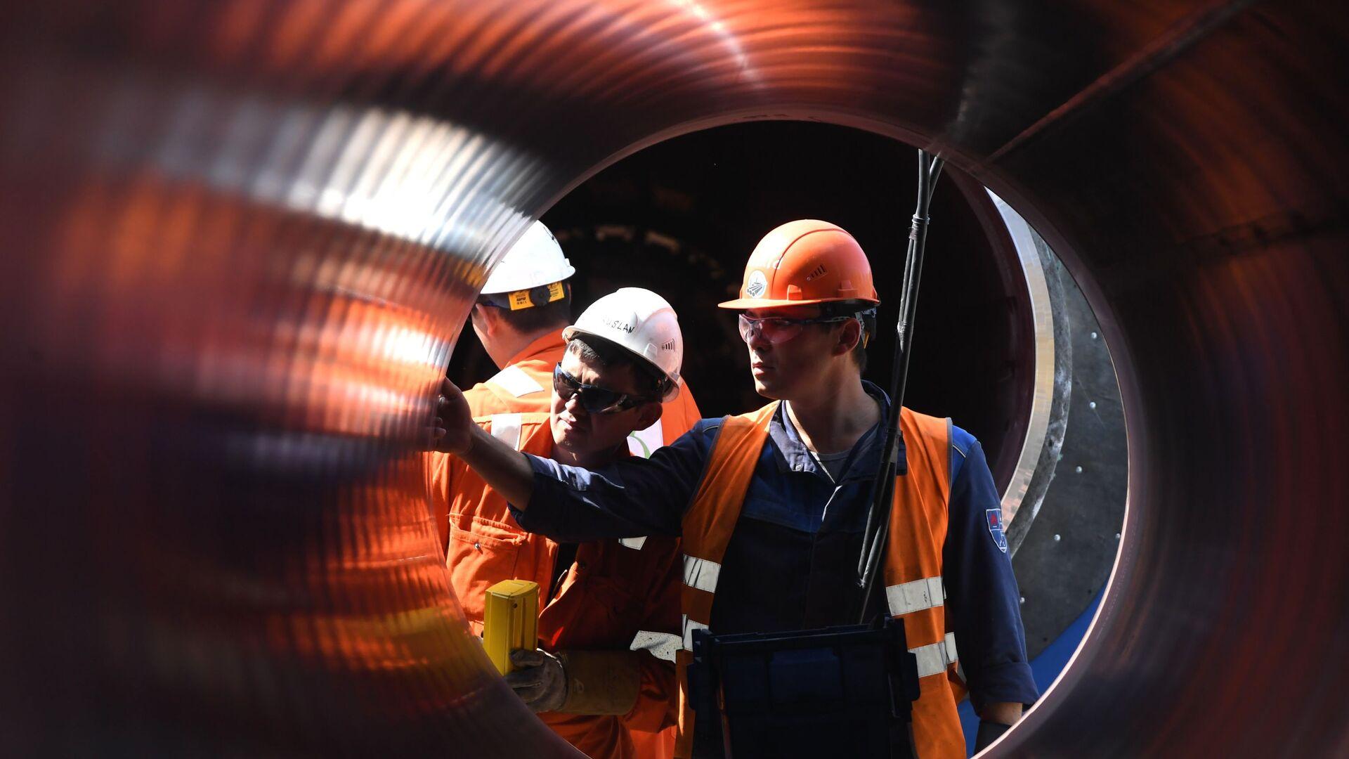 Construcción de Nord Stream 2 - Sputnik Mundo, 1920, 06.03.2021
