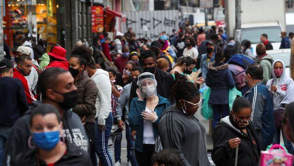 Brote de coronavirus en Sao Paolo, Brasil - Sputnik Mundo