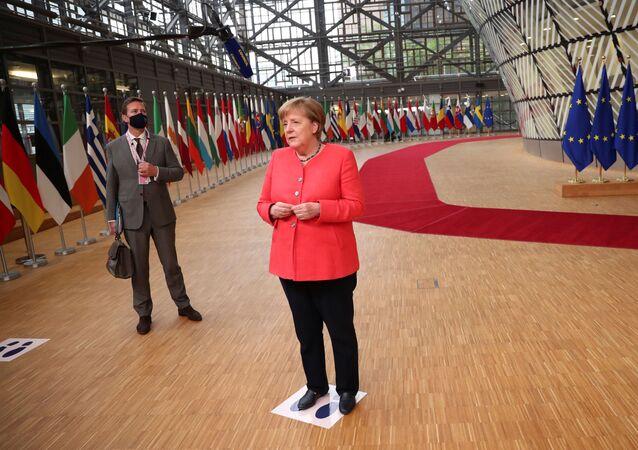 Angela Merkel, canciller de Alemania