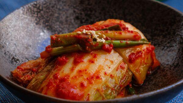 Kimchi, plato tradicional de la cocina coreana - Sputnik Mundo