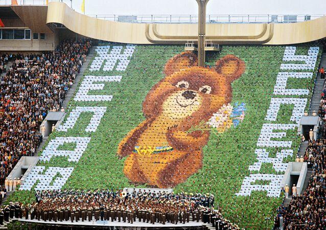 Ceremonia de apertura de los Juegos Olímpicos de Moscú de 1980