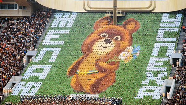 Ceremonia de apertura de los Juegos Olímpicos de Moscú de 1980 - Sputnik Mundo