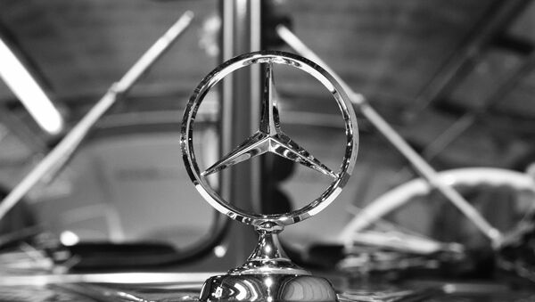 Logo de Mercedes - Sputnik Mundo