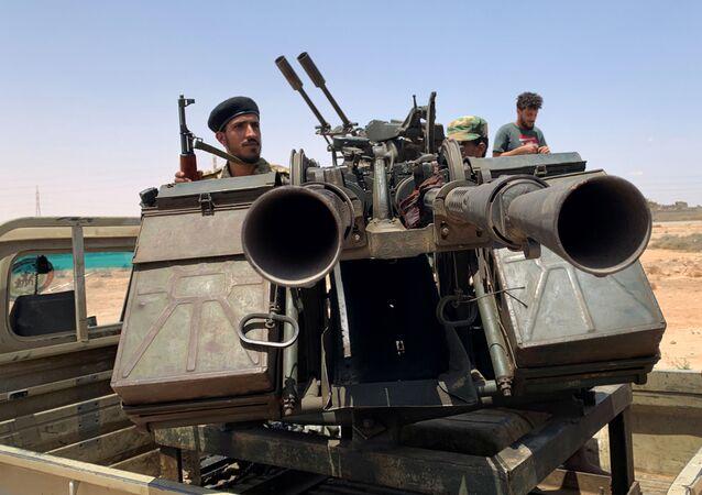 Militares libios