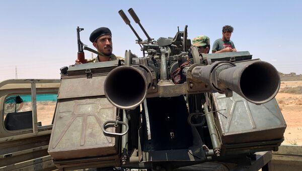 Militares libios - Sputnik Mundo