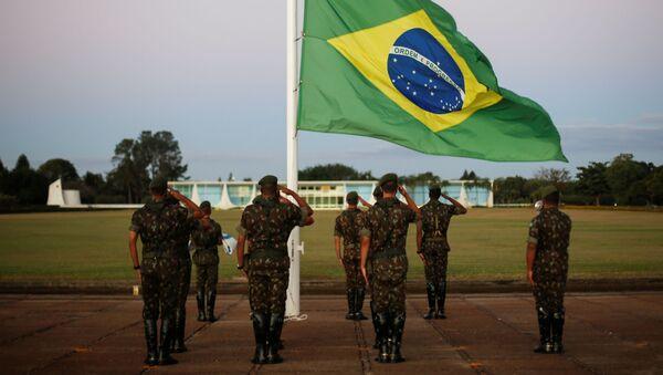 Militares de Brasil - Sputnik Mundo