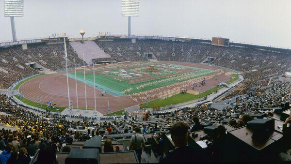La ceremonia de apertura de los JJOO de Moscú en el estadio Luzhnikí - Sputnik Mundo