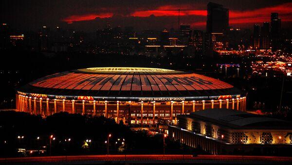 El estadio Luzhniki el día de la final del Mundial de fútbol de Rusia (2018) - Sputnik Mundo