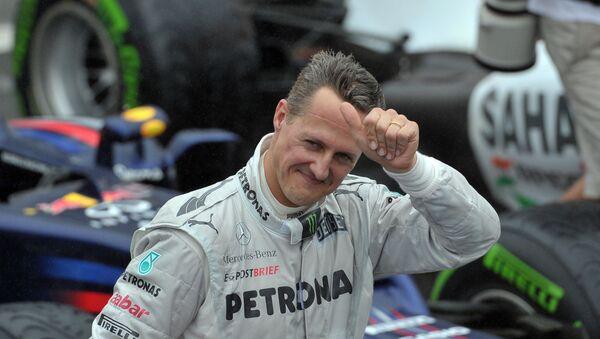 Michael Schumacher, expiloto de Formula 1 alemán (archivo) - Sputnik Mundo
