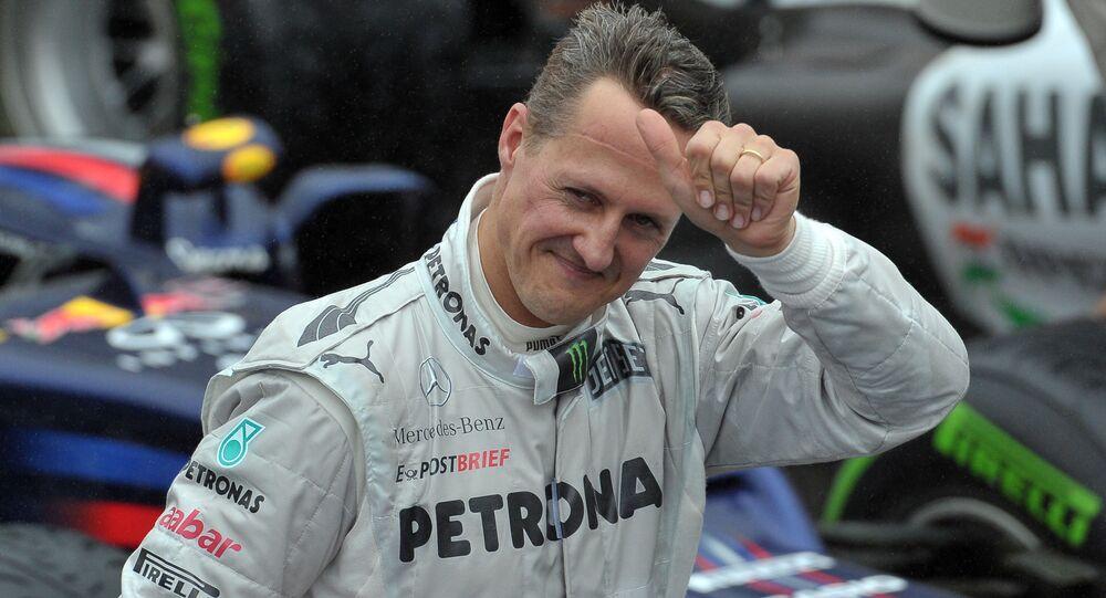 Michael Schumacher, expiloto de Formula 1 alemán (archivo)
