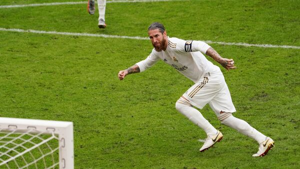Sergio Ramos, el futbolista de Real Madrid - Sputnik Mundo
