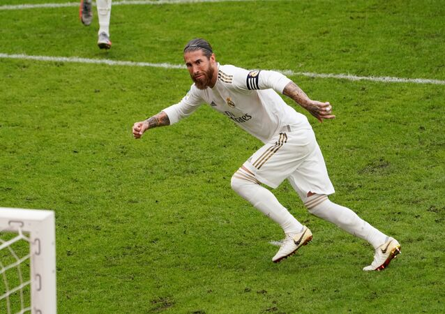 Sergio Ramos, el futbolista de Real Madrid