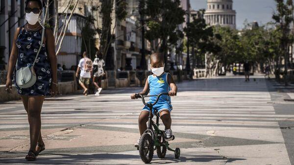 Un niño cubano - Sputnik Mundo