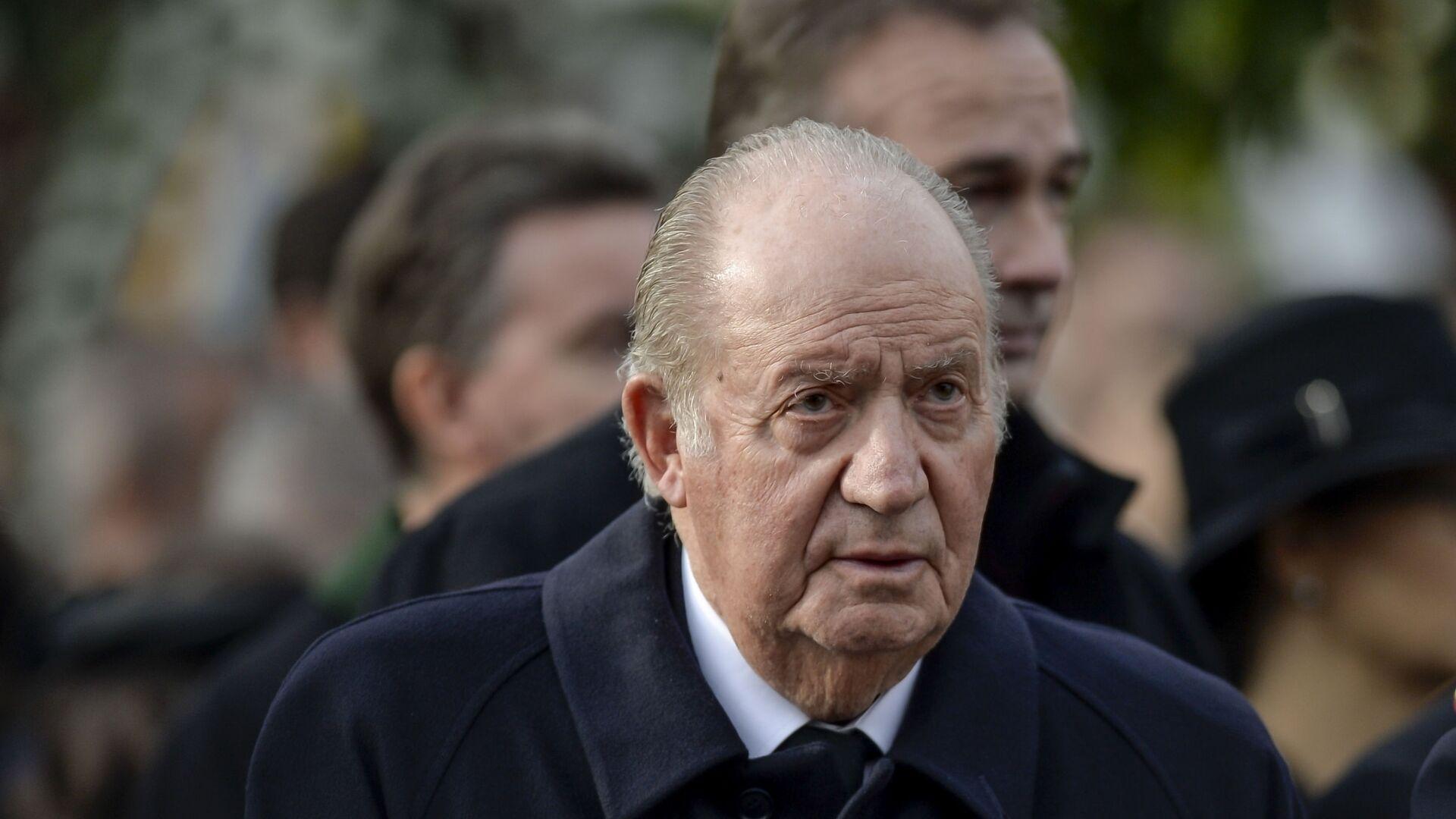 Juan Carlos I, rey emérito de España - Sputnik Mundo, 1920, 16.06.2021