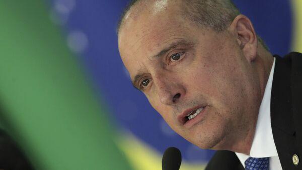 El ministro de Ciudadanía del Gobierno de Brasil, Onyx Lorenzoni - Sputnik Mundo