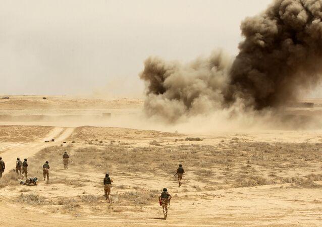 Miles de soldados iraquíes entrenados por el Ejército español en Besmaya