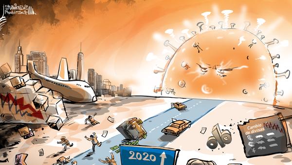 El atardecer de la humanidad o cómo el COVID-19 pone de rodillas al mundo - Sputnik Mundo