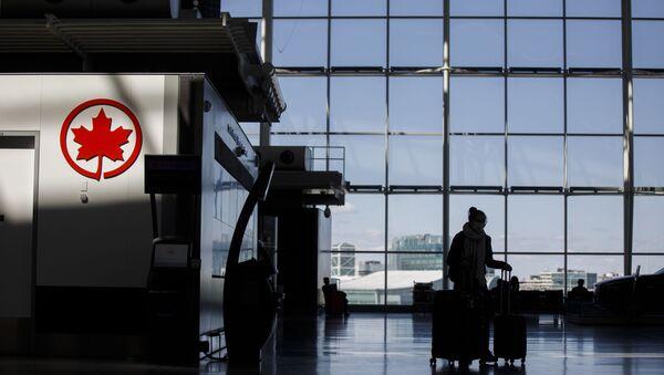 El Aeropuerto Internacional Toronto Pearson, Canadá - Sputnik Mundo