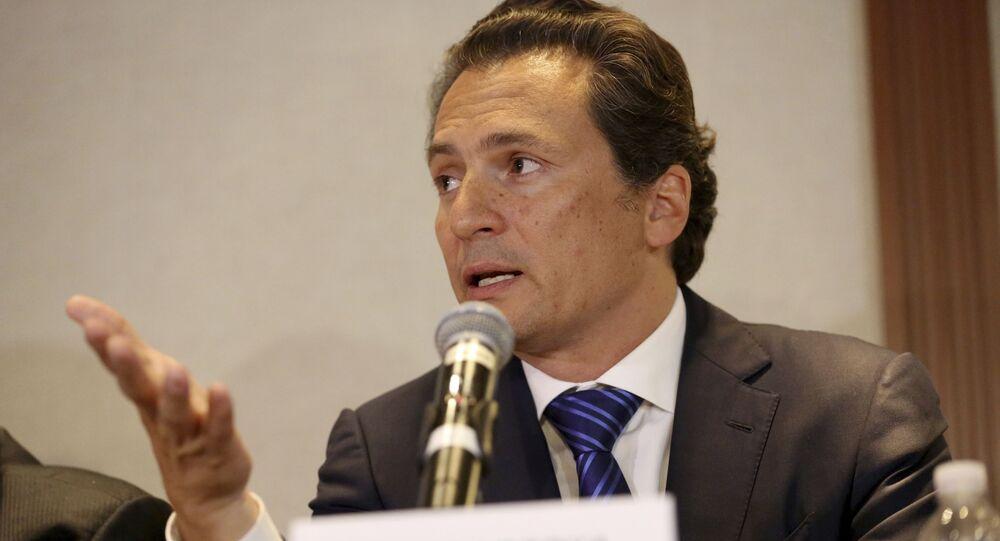 Emilio Lozoya, exdirector de Pemex