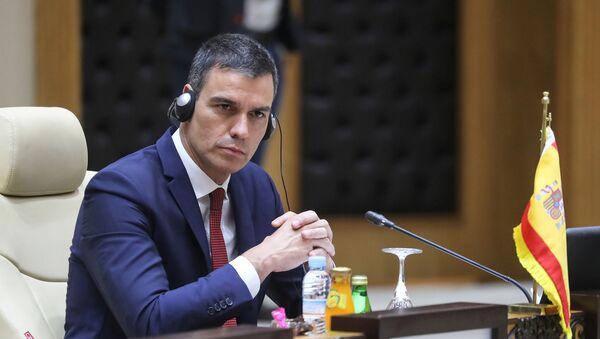 Pedro Sánchez, presidente del Gobierno de España en la G5 Sahel, 30 de junio de 2020 - Sputnik Mundo