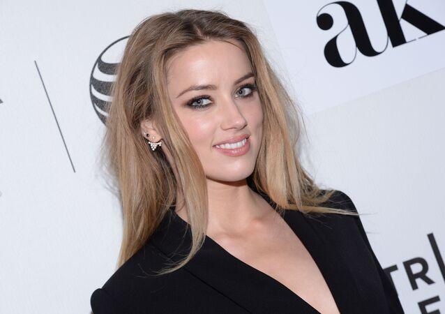 Amber Heard, actriz estadounidense
