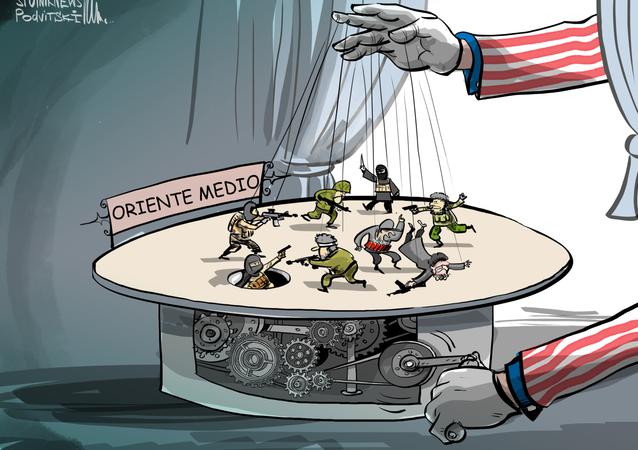 EEUU, la mano que da vida al teatro de marionetas de Oriente Medio