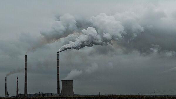 Las emisiones del dióxido de carbono  - Sputnik Mundo