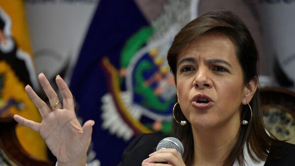 María Paula Romo, ministra de Gobierno de Ecuador - Sputnik Mundo