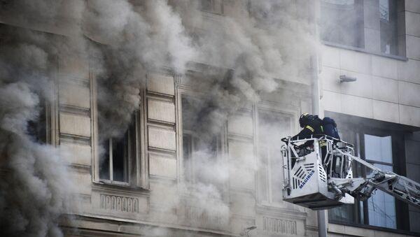 Incendio, foto de archivo - Sputnik Mundo