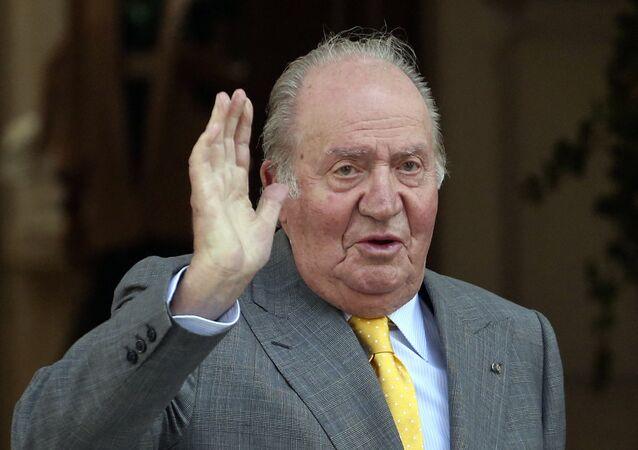 El rey emérito español Juan Carlos I