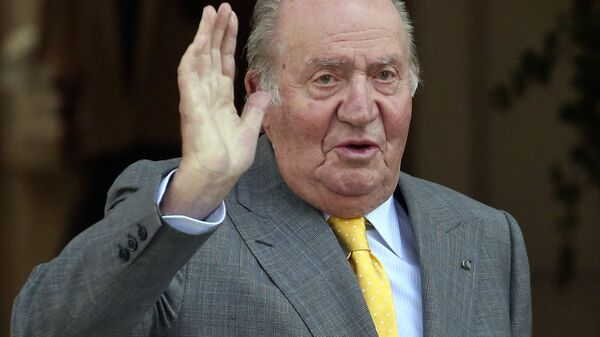 El rey emérito español Juan Carlos I - Sputnik Mundo
