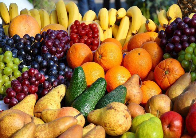 Fruta, imagen referencial