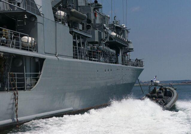 Las maniobras navales conjuntas Sea Breeze (archivo)