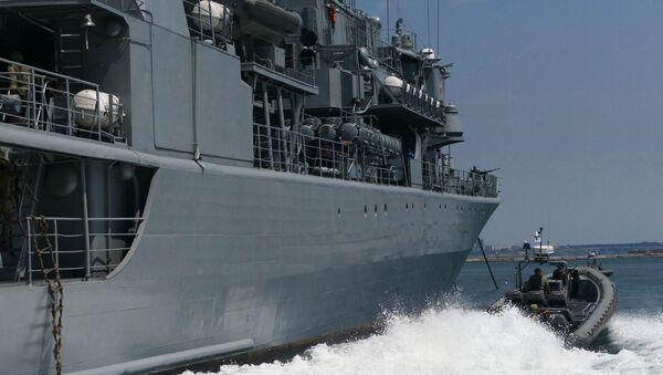 Las maniobras navales conjuntas Sea Breeze (archivo) - Sputnik Mundo