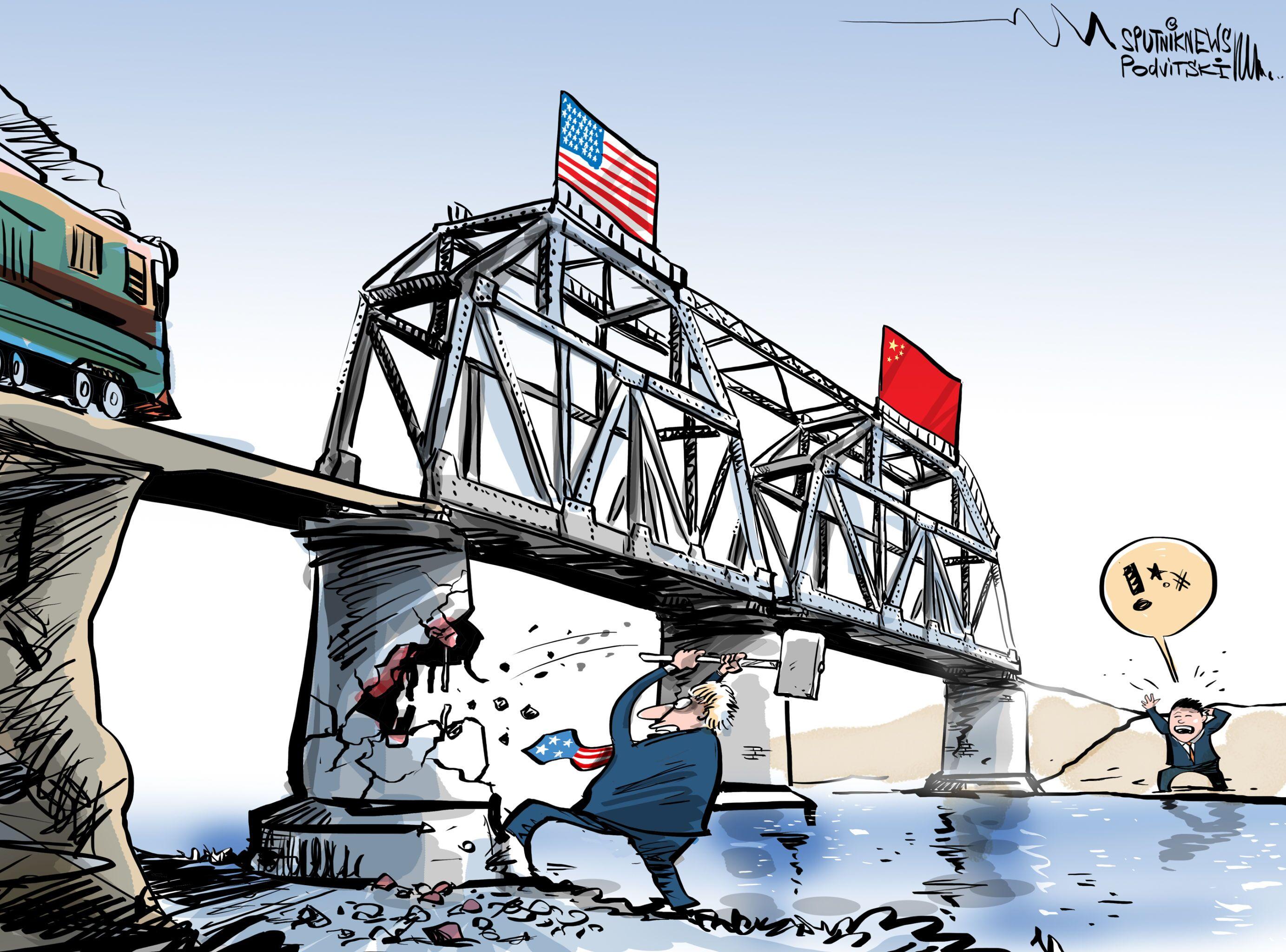 EEUU destruye los puentes que tanto costó construir con China
