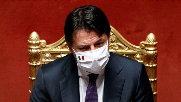 Giuseppe Conte, el primer ministro de Italia - Sputnik Mundo
