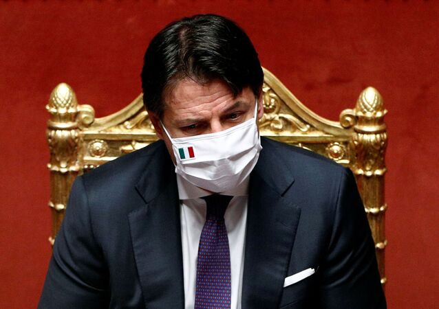 Giuseppe Conte, el primer ministro de Italia