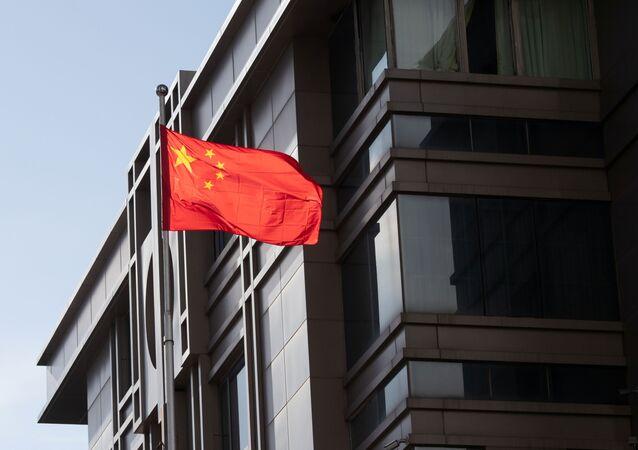 El consulado general de China en Houston, EEUU