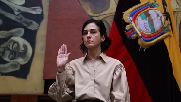 María Alejandra Muñoz, vicepresidenta de Ecuador - Sputnik Mundo